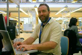 Wikipedia was actually founded by this guy - Jimmy Wales - but it's not as funny