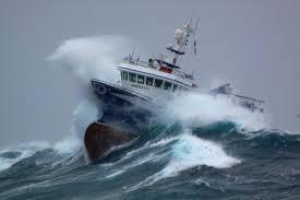 Hang on. Rough seas ahead!