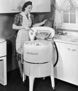 Work on your script AND a load of laundry at the same time!