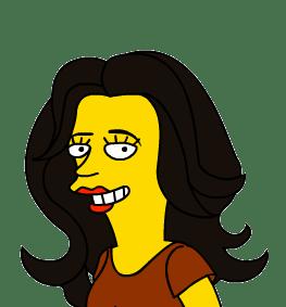 Pilar Simpsonized