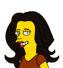 Pilar Simpsonized