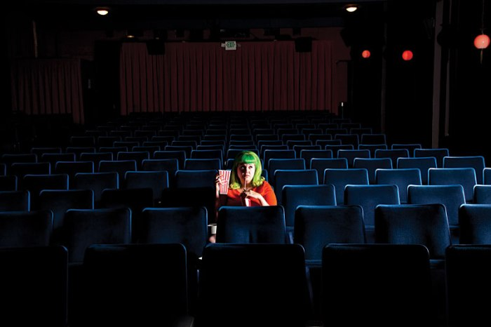 alone in theatre