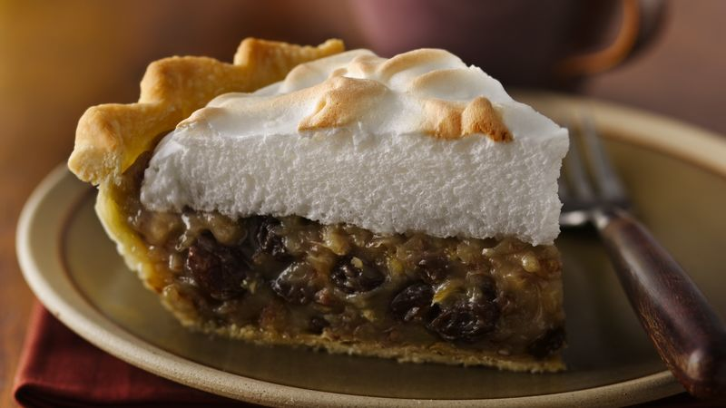 sour cream raisin pie